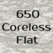 650 Coreless Flat