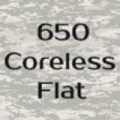 650 Coreless Flat