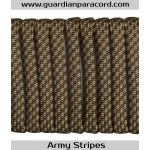 Guardian Paracord 550 Type III Army Stripes