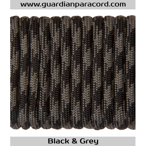 Guardian Paracord 550 Type III Black & Grey