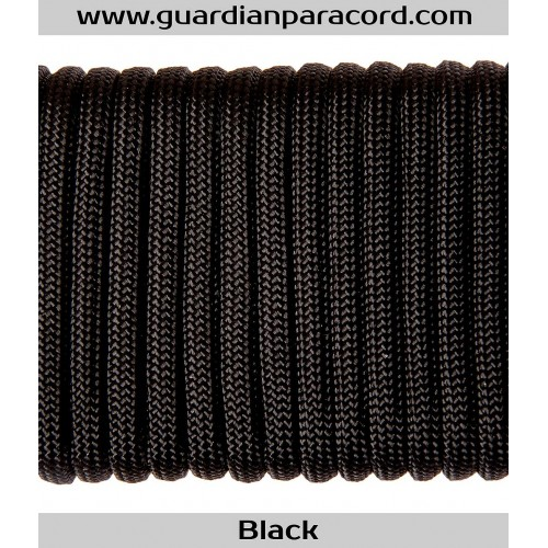 Guardian Paracord 550 Type III-S (Survival) Black