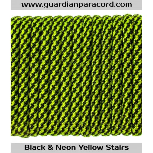 Guardian Paracord 550 Type III Black & Neon Yellow
