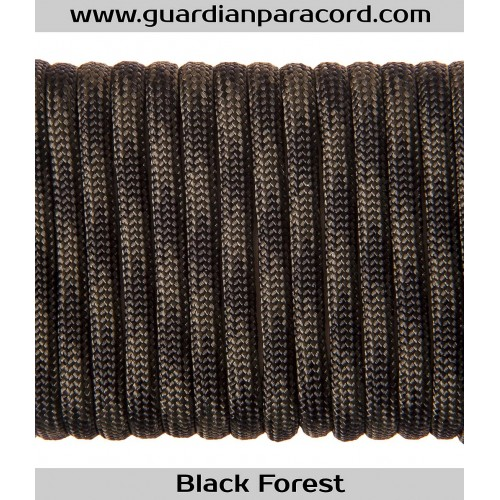Guardian Paracord 550 Type III Black Forest