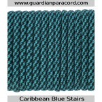 Guardian Paracord 550 Type III Caribbean Blue Stairs