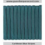 Guardian Paracord 550 Type III Caribbean Blue Stripes