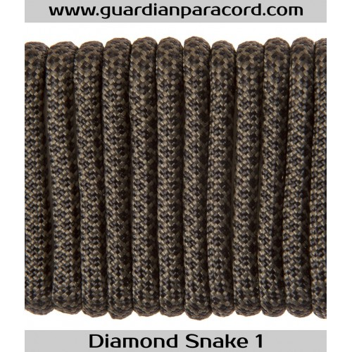 Guardian Paracord 550 Type III Diamond  Snake