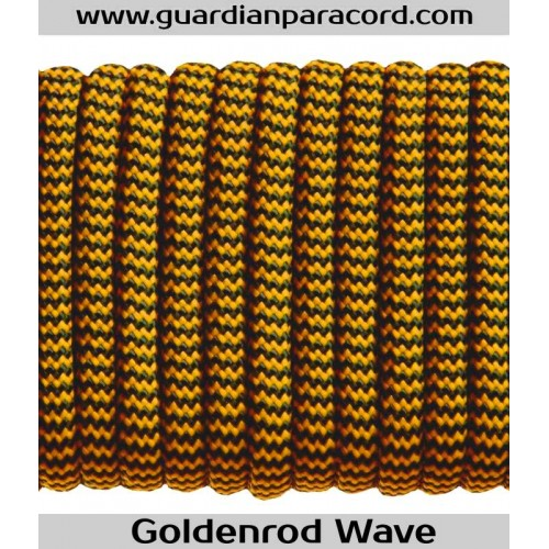Guardian Paracord 550 Type III Goldenrod Wave