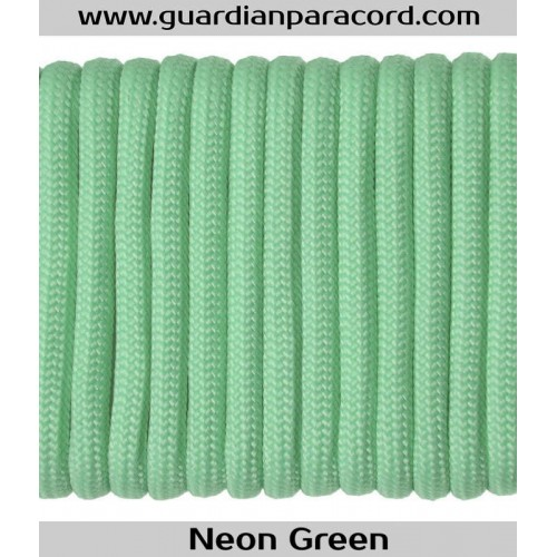 Guardian Paracord 550 Type III Neon Green