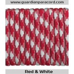Guardian Paracord 550 Type III Red & White