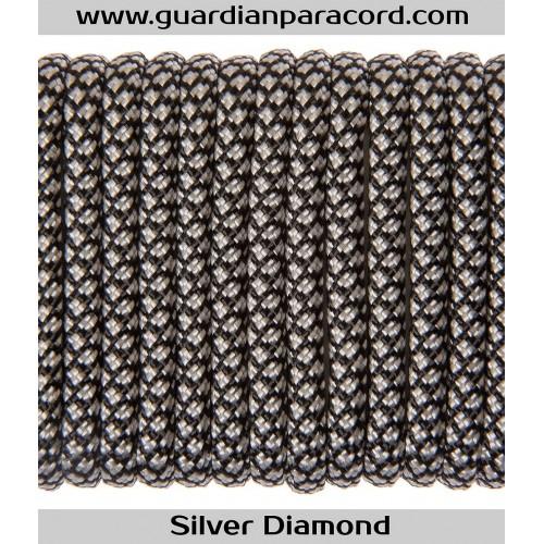 Guardian Paracord 550 Type III Silver Diamond