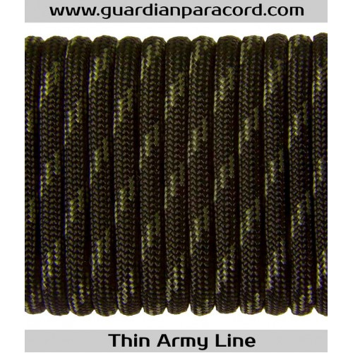 Guardian Paracord 550 Type III Thin Blue LineThin Army Line