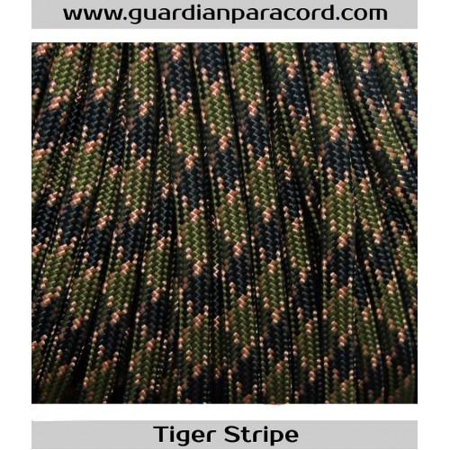 Guardian Paracord 650 Coreless Flat Tiger Stripe